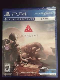 PS4 FARPOINT VR (New)