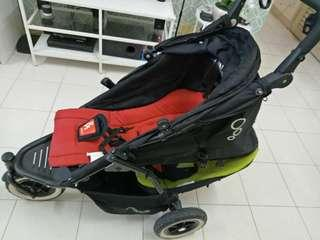 Phil&teds stroller double buggy