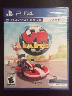 PS4 PlayStation VR KARTS (New)