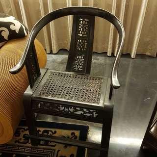 Black Mesh Arm Chair