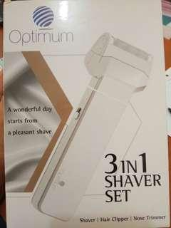 Jual Rugi Optimum 3 in 1 Shaver Set