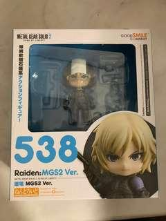 GSC nendoroid diy 538 raiden metal gear good smile 黏土人 合金裝備 雷電