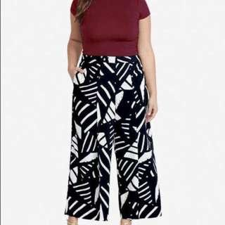 plus size terno(spandex top & printed pants )...