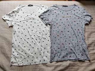 Mango shirts