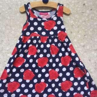 Young dimensions dress age 2-3