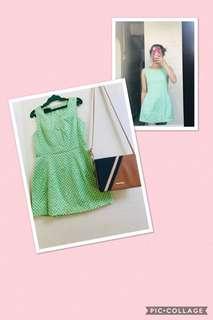 Green cute Dress