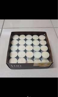 🚚 HOLA盒裝蠟燭71個