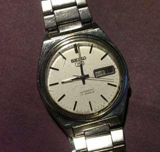Authentic Japan Seiko 5 Automatic watch stainless steel bracelet