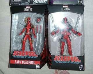 Marvel legends Deadpool set of 2