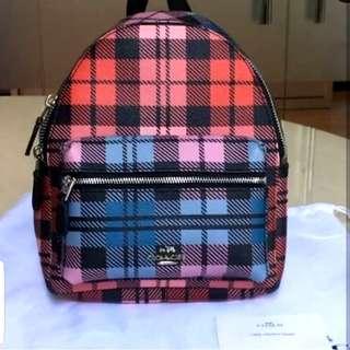 Coach mini charlie bagpack original