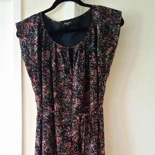 Beautiful Print, Chiffon Dress From Jeanswest