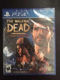 PS4 The walking Dead Telltale Series: A New Frontier (New)