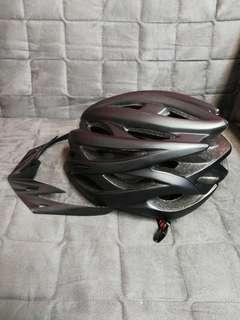 Magic cube mtb helmet with led