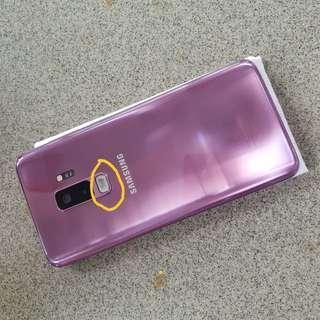 Samsung s9 plus sein full set masih garansi mulus