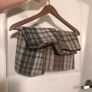Checkered Mini Skirts sized S