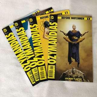 Before Watchmen - Ozymandias Vol 1-4