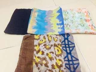 Combo cotton shawl