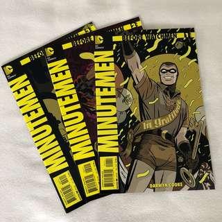 Before Watchmen - Minutement Vol 1-3