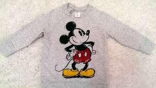 Preloved H&M Mickey Mouse Sweatshirt