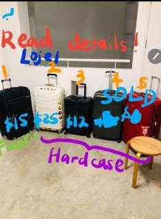 ❌Read my details! Luggage bag Traveller suitcase some defects