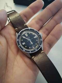 Mondaine Vintage 37mm Diver