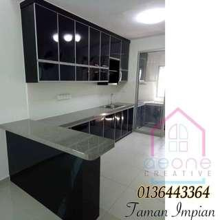 Kabinet Dapur / Kitchen Cabinet