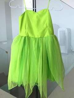 Baju Tinker Bell size 3 - 4Y
