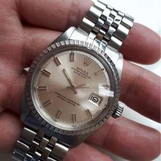 "Rolex Datejust 1603 ""Wide Boy"" or ""Fat Boy"" dial"