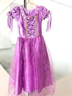 Dress Rapunzel size 3-4Y