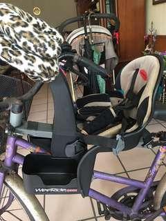 兒童腳踏車座椅