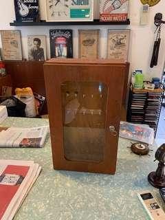 Cabinet wooden.
