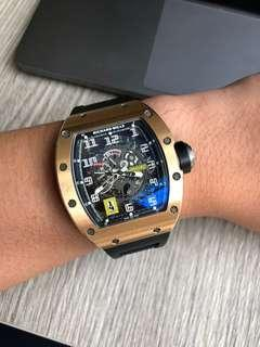 Richard Mille 030 rose gold