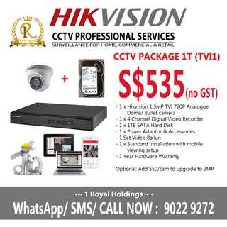 cctv hikvision package