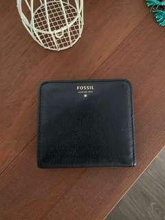 FOSSIL genuine leather coin purse