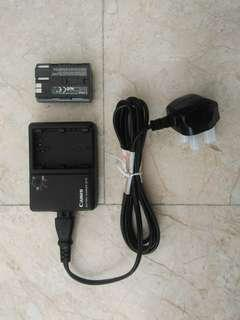 Canon CB 5L charger + free battery