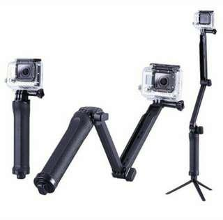 🚚 Brand New And High Quality Gopro 3-way Monopod And Tripod