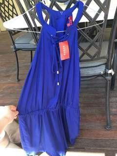 Guess blue jumpsuit