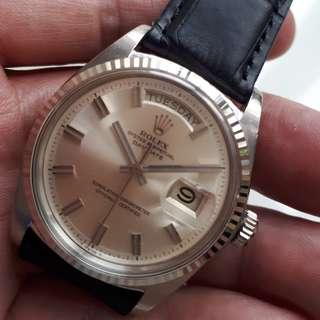 ROLEX DAY DATE WIDE BOY OR FAT BOY 1803 NO LUME DIAL