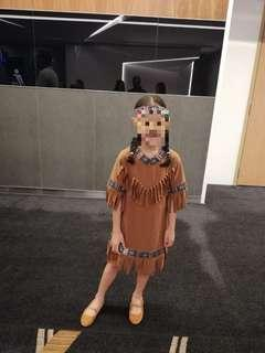 Native American Costume/Red Indian