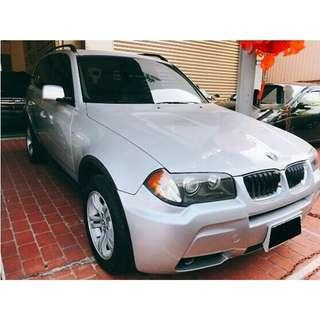 2006年BMW寶馬 X3 3.0(銀)