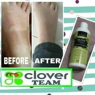 Lotion olive oil/handbody pencerah kulit