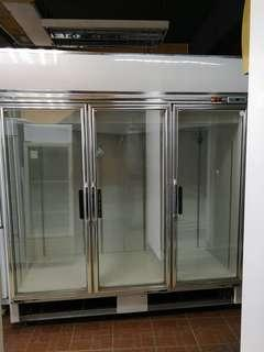 Used Taiwan 3 glass  freezer