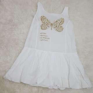 Butterfly gliter dress