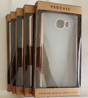 PROCASE FOR SAMSUNG GALAXY C7 ROSE GOLD PREMIUM MOBILE PHONE CASE