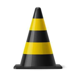 RENTAL: D64 TRAFFIC CONES
