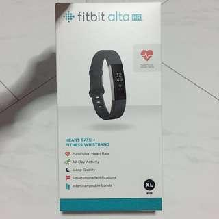 NEW Fitbit Alta HR Black XL