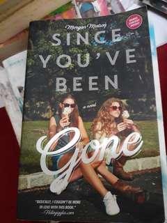 Novel Since You've Been Gone