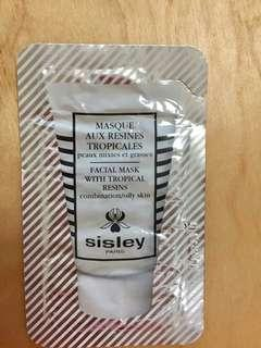 SISLEY Facial Mask with Tropical Resins 3ml travel size sachet Expired desember 2021