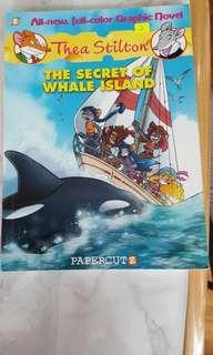Thea Stilton-the secret of whale island