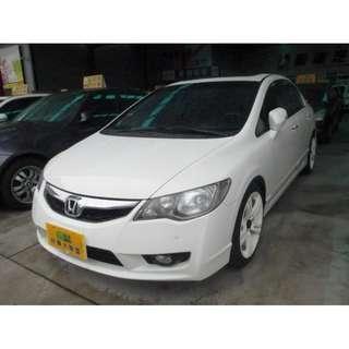 2011年 Honda 本田 Civic K12 白 1.8
